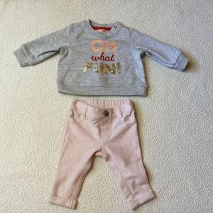 Adorable Infant Outfit